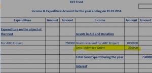 advance grant